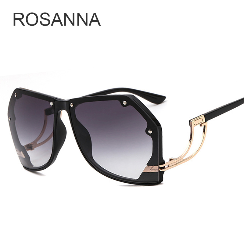 38c3569164 Luxury Vintage Rimless Sunglasses Women Brand Designer Oversized Retro  Female Sunglass Sun Glasses For Women Lady Sunglass 2018