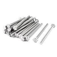 1 4 20 X 3 304 Grade Stainless Steel Hexagonal Cap Screw Bolt X 20