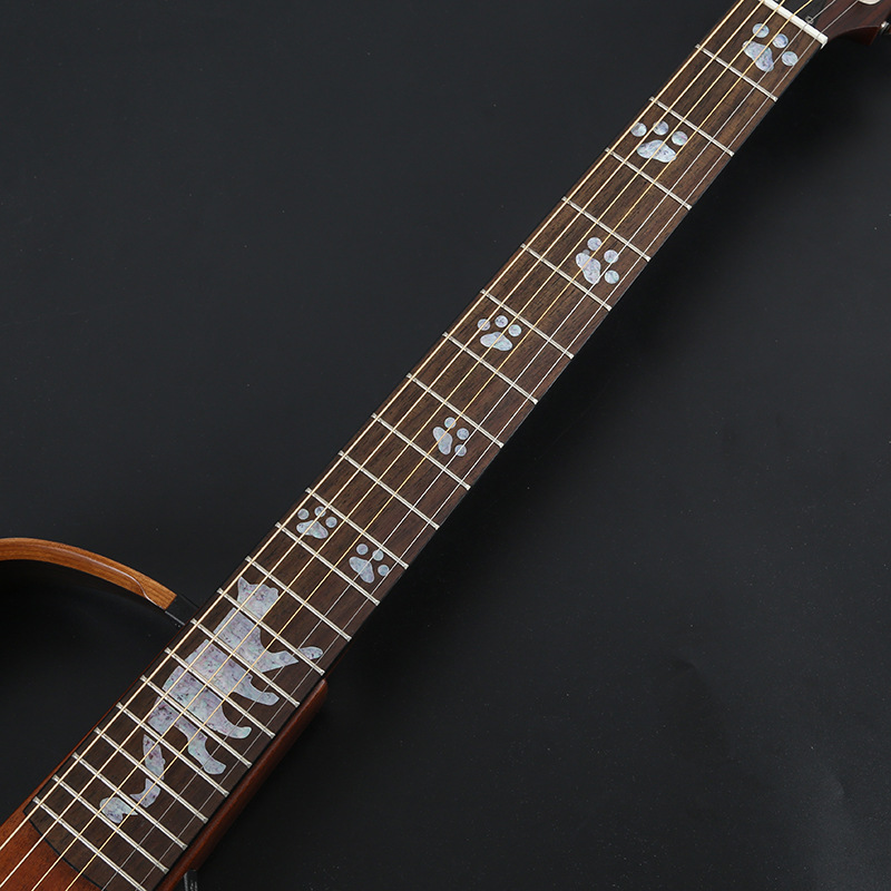 hot electric acoustic guitar stickers bass inlay decal ultra thin fretboard sticker for guitar. Black Bedroom Furniture Sets. Home Design Ideas