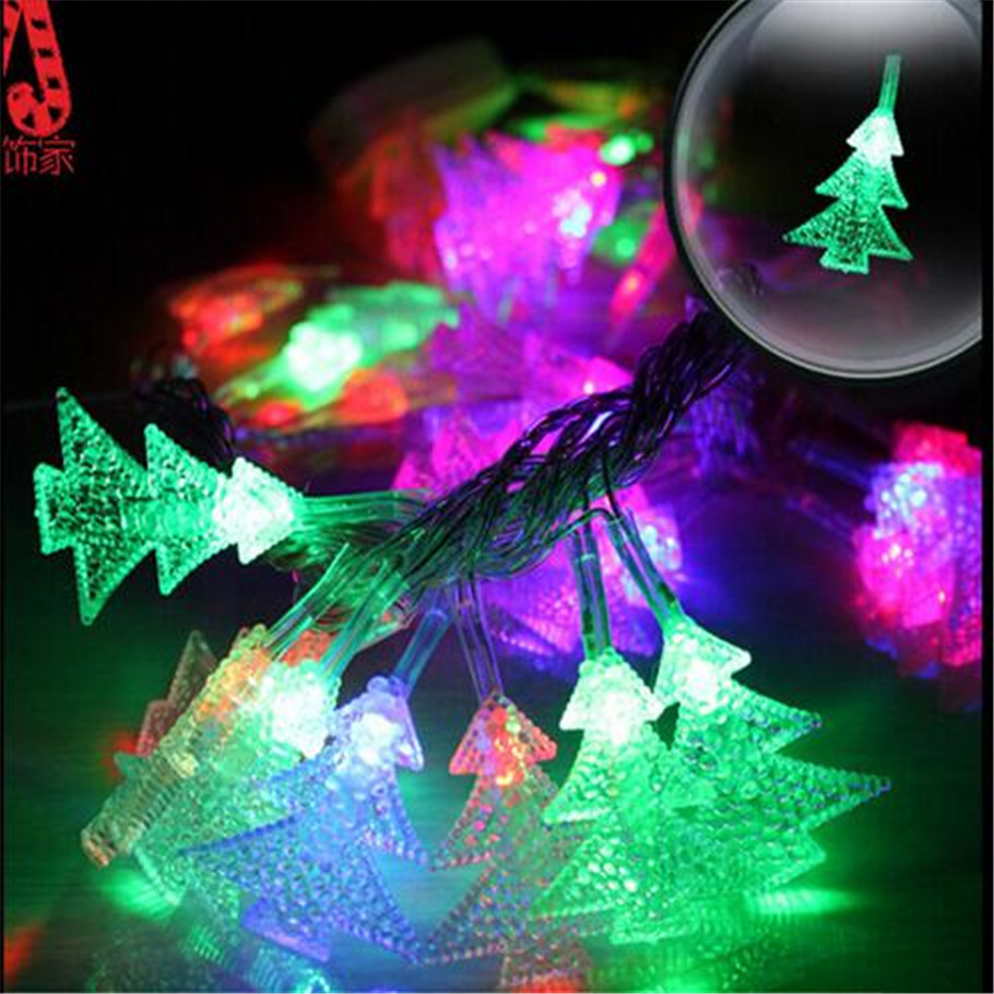 Hot Sale 10M string lights with 80 Led AC220V holiday Party decoration lamp Festival Christmas Tree light Outdoor lighting