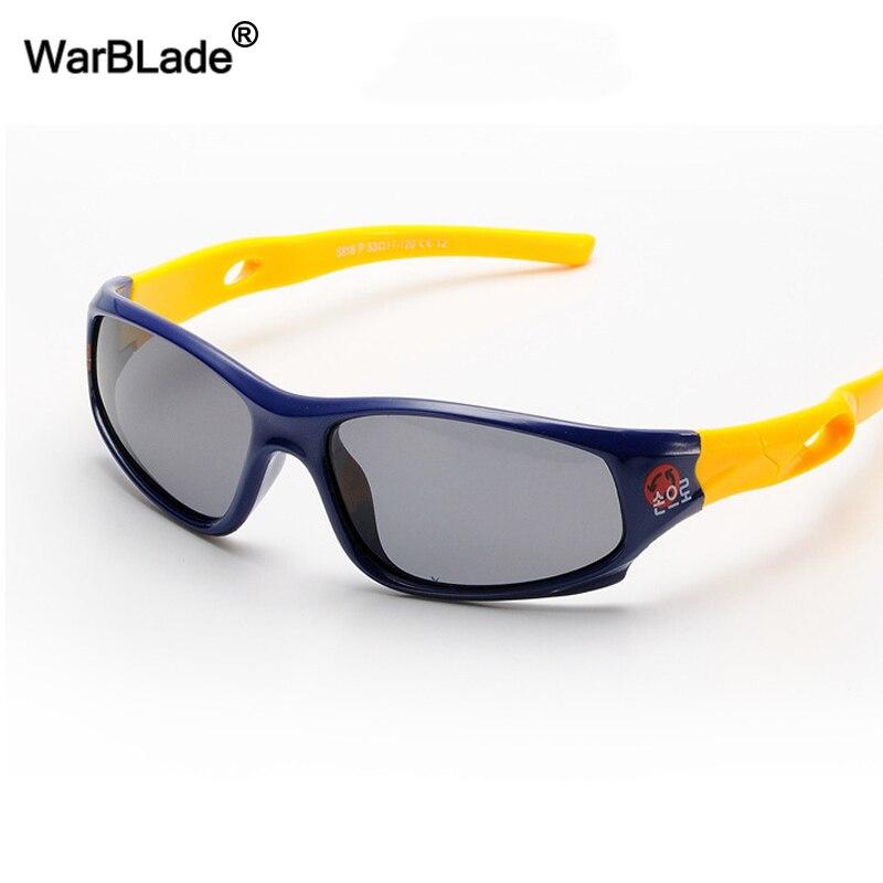 feinste Stoffe zeitloses Design Professionel WarBLad kinder Polarisierte Sonnenbrille Kinder Baby Sport Flexible Brillen  Sicherheit Rahmen Brille Sonnenbrille UV400 Für Junge Mädchen