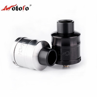 Authentic WOTOFO Lush Plus RDA Electronic Cigarette Atomizer 24mm Rebuildable 510 Thread Dual Post Build Deck