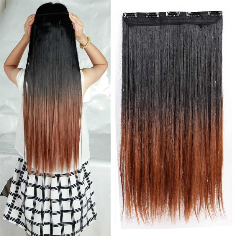 Super long hair extensions clip on image collections hair natural straight hair clip in on hair extensions 25 inch 63cm natural straight hair clip in pmusecretfo Image collections