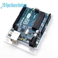 5pcs New And Original UNO R3 ATMega328P Arduino UNO R3 ATMega328 Official Genuine With Cable Free