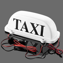LED Taxi Top Light White Taxi Top Light цена 2017