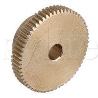 31x12 x мм 6 мм желтый 0,5 Модуль мм 31 мм 0 uter диаметр 60 Зубы латунь Червячное колесо передач аксессуар с Шурупы Для шестерни коробка вал тормоз Drivin