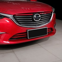 1A117C 2017 666a Tezi Modified Exterior Decorative Plating On The Front Grille Trim Strip Special Bright