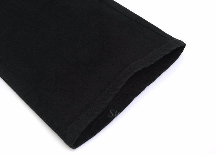 Fashion Winter Warm Mens Black Thicken Velvet Boot Cuts Casual Jeans Men Skinny Flared Jeans Bell Bottom Fleece Jeans 3Xl 4Xl 36 12
