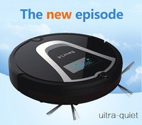 Eworld M884 Vacuum Cleaning Robot Mini Automatic Robot Vacuum With Remote Controler Virtual Wall And Cleaning