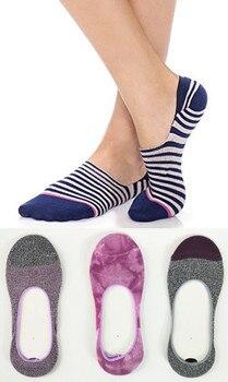 цена на 3 Pairs No Show Women Invisible Socks Pack