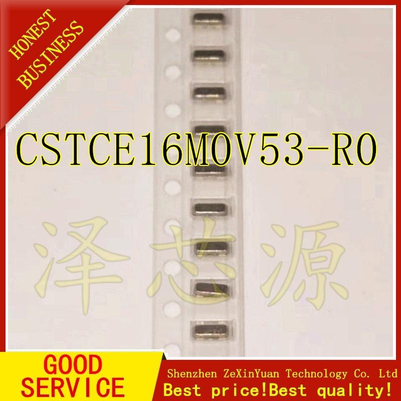 10PCS/LOT 16MHZ CSTCE16M0V53 CSTCE16M 3.2 * 1.3 SMD-3 3215  Crystal