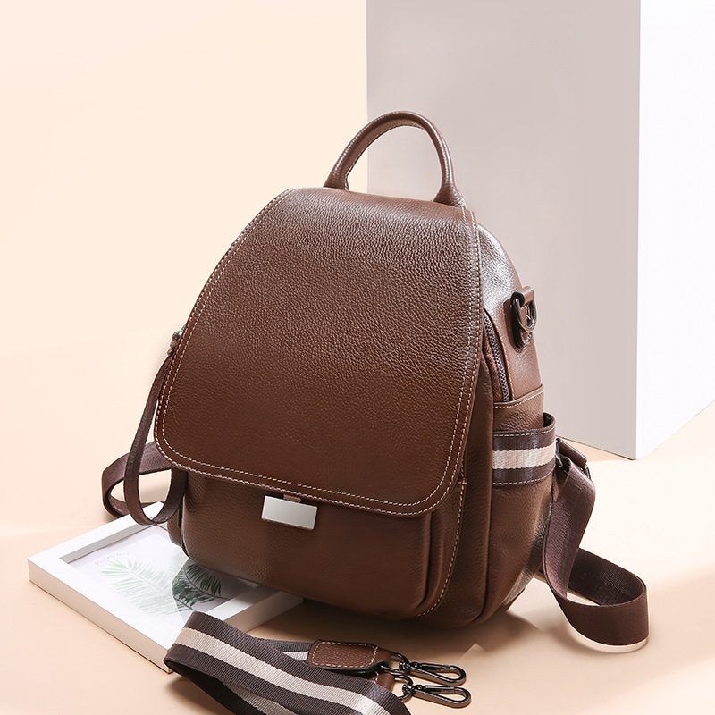 8c0ffdef9b9 Women's genuine leather backpacks ,female cow leather shoulder bags ...