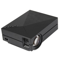 GM60A LCD Projector 1000LM 800x480 Pixels Portable 1080P Multimedia Player With Multi Screen Interactive For Home