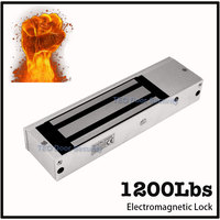EM lock 1200lbs/500KG Brand new Eletric Magnetic Lock with LED Light and Door Position Detection Output