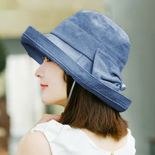 Liva girl Foldable Sun Hats Women Floppy Wide Brimmed Sun Visor Summer  Beach Solid 2431bbb400dd