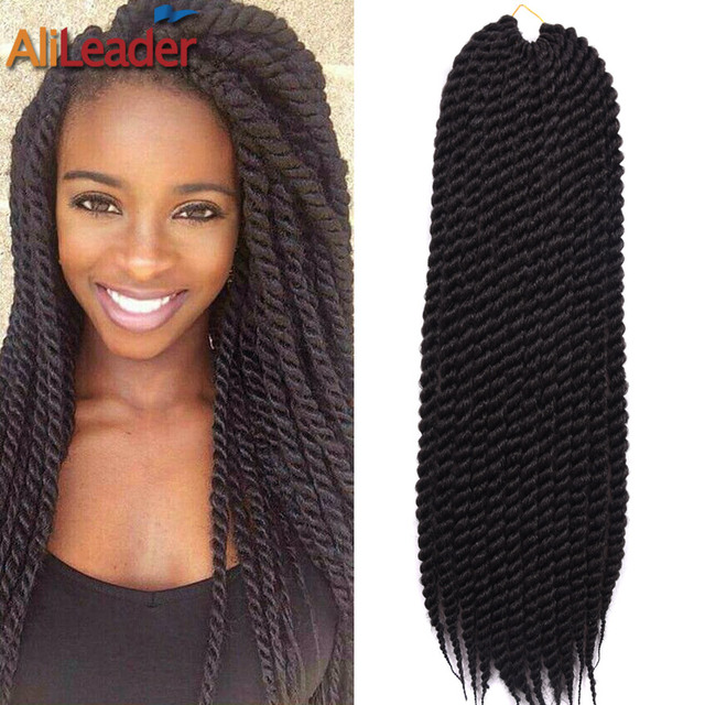 Faux Crochet Box Braids : 24Inch Soft Dread Hair 2X Box Braids Crochet Braids Synthetic Hair ...