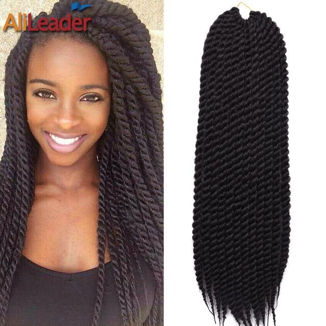 24Inch Soft Dread Hair 2X Box Braids Crochet Braids Synthetic Hair ...