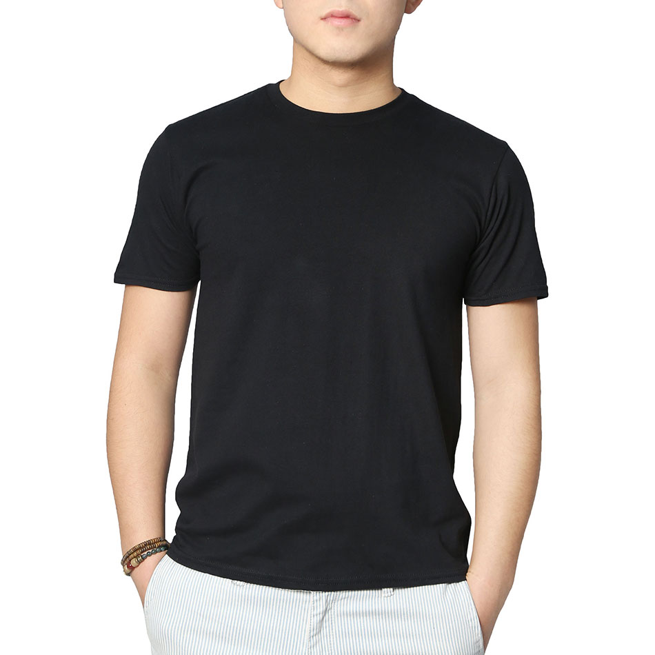 Womens Plain Black V Neck T Shirts