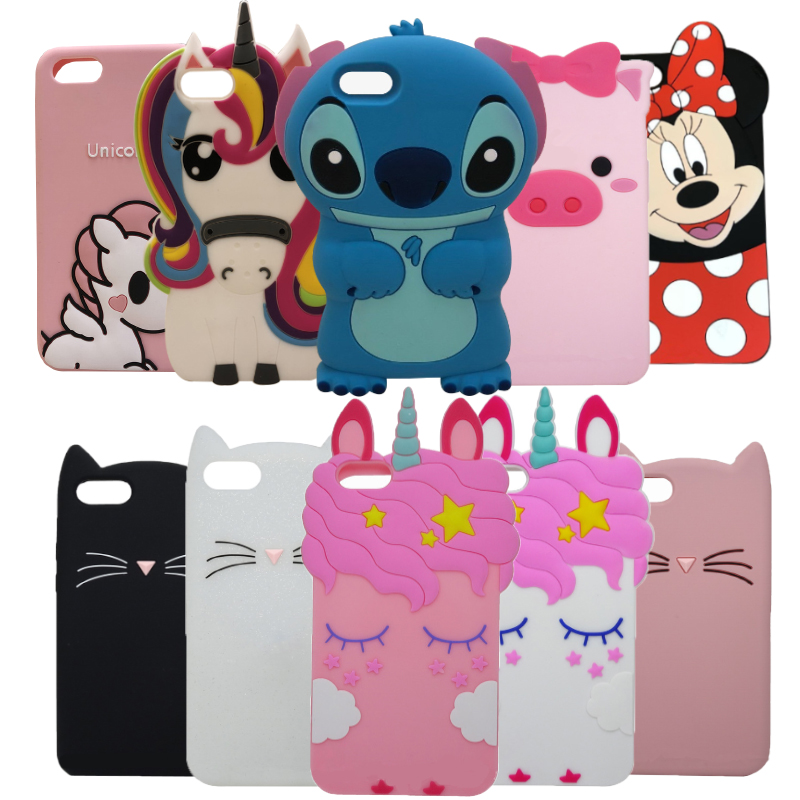 3D Cartoon Minnie soft Silicone Phone Case For <font><b>Huawei</b></font> Y5 Prime 2018 <font><b>DRA</b></font>-<font><b>L21</b></font> LX3 Case for <font><b>Huawei</b></font> Y5 Prime 2018 <font><b>DRA</b></font>-L02 <font><b>DRA</b></font>-L22 image