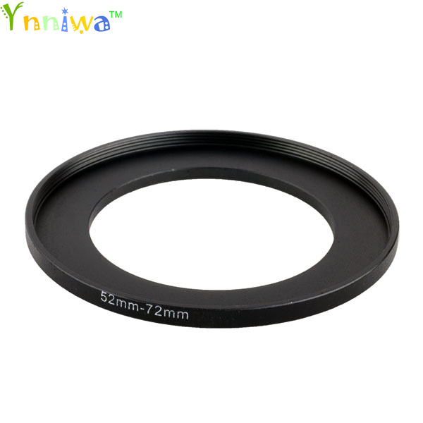 52-72 Mm Metal Step Up Rings Lens Adapter Filter Set