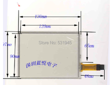 ZhiYuSun 5.8 resistencia línea de la Pantalla manuscrita Pantalla Táctil 130*96mm