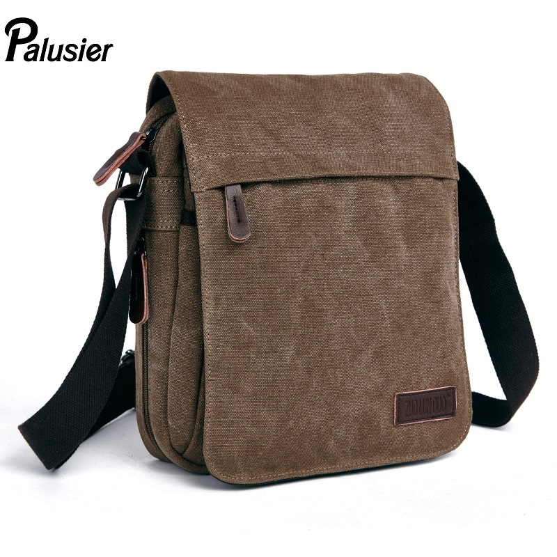 Messenger-Bag Canvas Postman Retro Shoulder-Pack Crossbody Fashion Women Casual Cover-Type