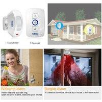 KERUI-EUUSUK-Plug-32-Songs-Optional-Waterproof-Touch-Button-Smart-Home-Welcome-Doorbell-Alarm-Intelligent-Wireless-Doorbell-4