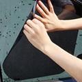 42*38 CM Protección Solar Y Protección Solar de Rayos Ultravioleta Anti Estática Pegatinas de Coches de Bloqueo Negro PVC Película Solar Car-styling Shading