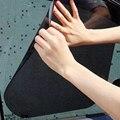 42*38CM Sun Shading And Anti Ultraviolet Ray Static Stickers Car Sun Shading  Blocking Black PVC Solar Film Car-styling Shading