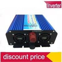 1500 Вт AC DC чистая синусоида инвертор пиковая мощность 3000 Вт 12 В/24 В/36 В/48 В до 120 В/220 В