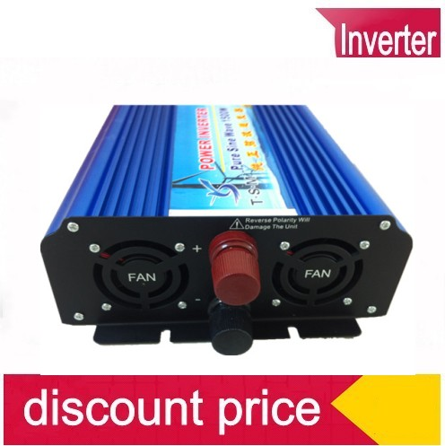 цена на 1500W invertor sinus pur DC AC inverter 1500W pure sine wave inverter peak power 3000W 12V 220V or 12V 230V