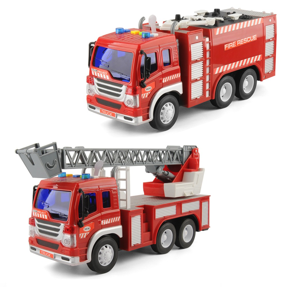 Strong-Willed Childrens Vehicles Toys Mini Fireman Toy Fire Truck Car Boy Educational Toy Christmas Birthday Gifts Diecasts & Toy Vehicles