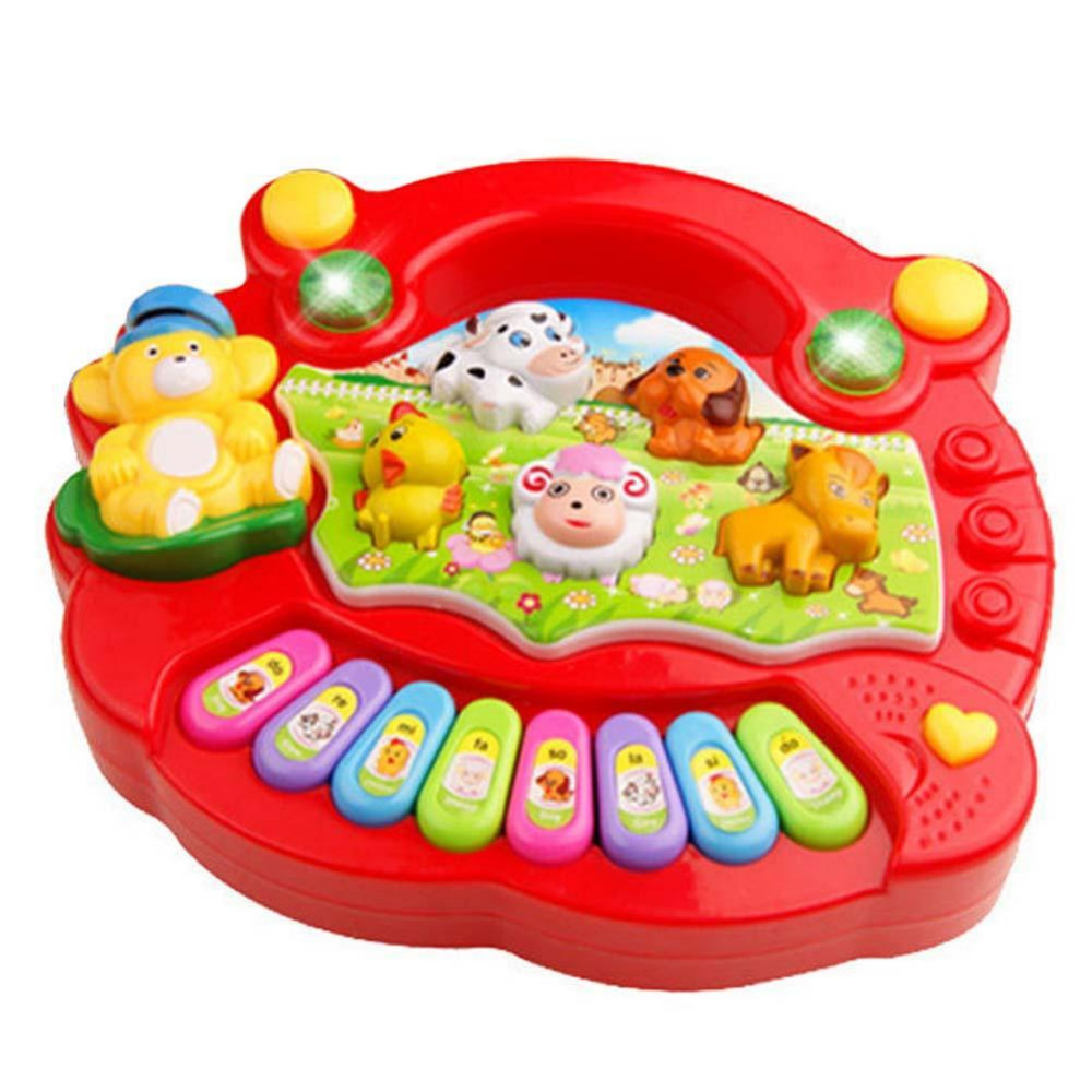 Toy Musical Instrument Baby Kids Musical Educational Piano Animal Farm Developmental Music Toys for Children Gift