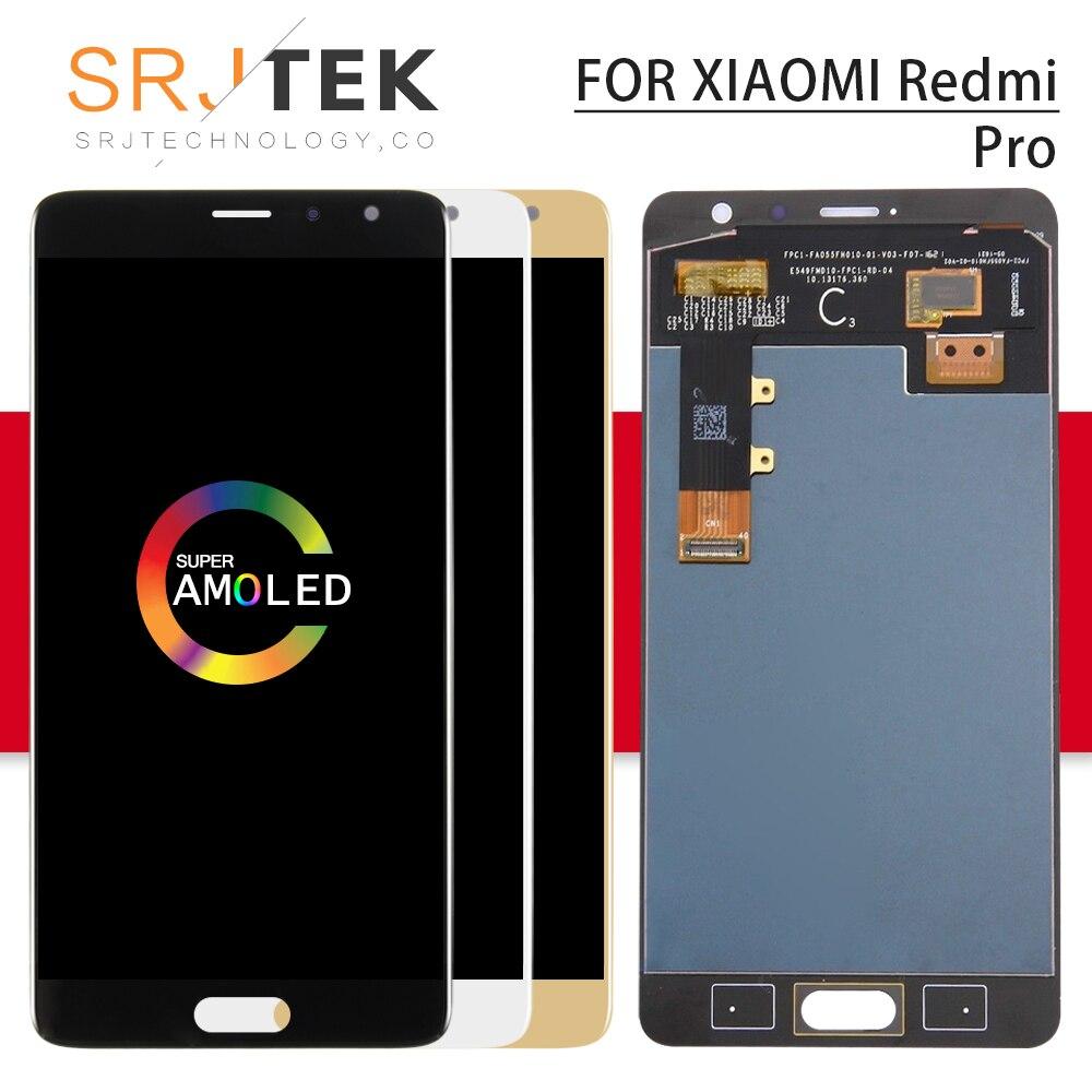 Srjtek For XiaoMi Redmi Pro LCD Display Matrix Touch Screen Sensor Digitizer Full Assembly Frame  For Xiaomi Redmi Pro DisplaySrjtek For XiaoMi Redmi Pro LCD Display Matrix Touch Screen Sensor Digitizer Full Assembly Frame  For Xiaomi Redmi Pro Display