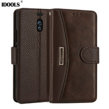 hot deal buy for meizu m6 note case dirt resistant pu leather wallet flip card holder 5.5