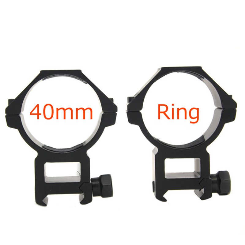 Mount Heavy Duty For Hunting 2019 Tactical 40mm Scope Mount Rings Picatinny Weaver 20mm Rail