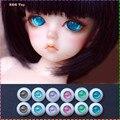 BJD eyes ball  8mm 12mm 14mm 16mm 18mm 20mm 22mm Acrylic Eye ball for  BJD Doll Handmade 6 Galaxy Color 1/4 1/6 1/3 Rebron Doll