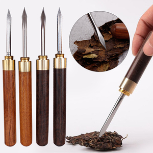 Puer Tools Tea Cone Needle For Breaking Prying Tea Brick Professional Tea Tool Knife Needle Stainless Steel Puer Tuos Biluochun(China)