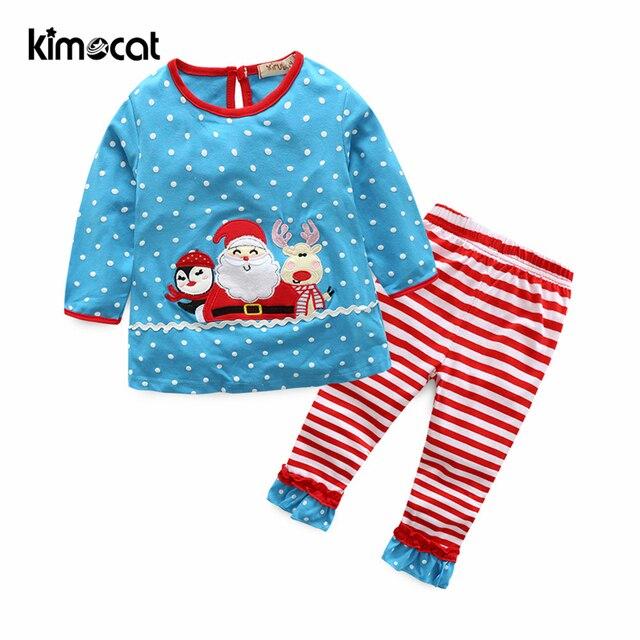 168b60e24411 Kimocat baby boy girl clothes winter Christmas baby cartoon pure ...