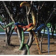 280 см Большой размер плюшевая игрушка Змея Имитация змея мягкие игрушки подарок на день рождения оптом и в розницу поставка с фабрики
