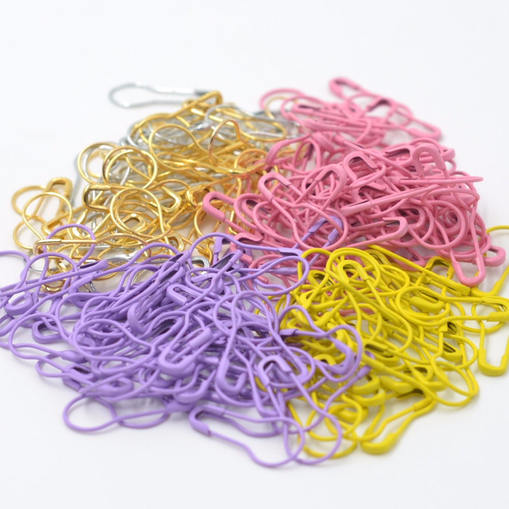 300PCS Mutil-color small pin safety pin gourd needle pin DIY Home Accessories Suitable for the Tailor