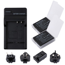 RP CGA-S005E S005 Rechargeable Battery+Charger Kit for Panasonic Lumix DMC-LX1 LX2 LX3 FX3 DMW-BCC12 For FUJI NP-70 DB60 1 pc cga s005 s005 bcc12 cga s005e dmw bcc12 rechargeable battery for panasonic lumix dmc fx180 dmc lx1 dmc lx2 lx3 fs1 fs2 fx01
