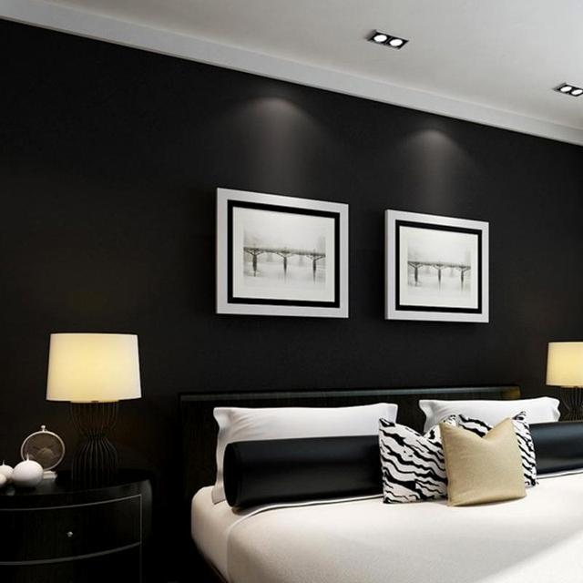 Peeling Blinkende Matte Goldfolie Tapeten Glitter Wirkung Funktion  Luxuriöse Wände Hintergrund Schwarz