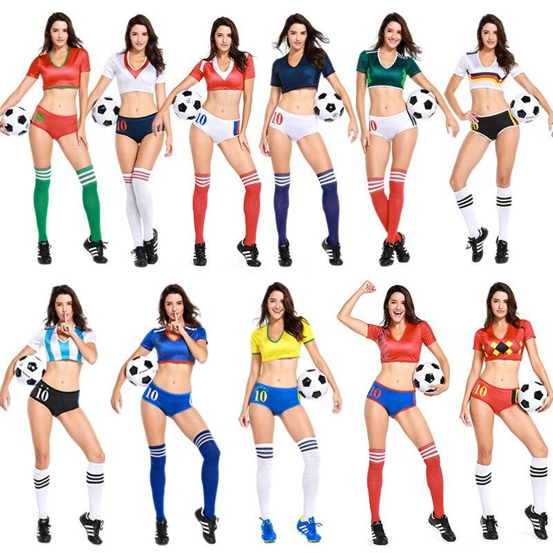 Fotboll Barndräkter Tyskland Portugal Brasilien Mexiko Frankrike - Maskeradkläder och utklädnad
