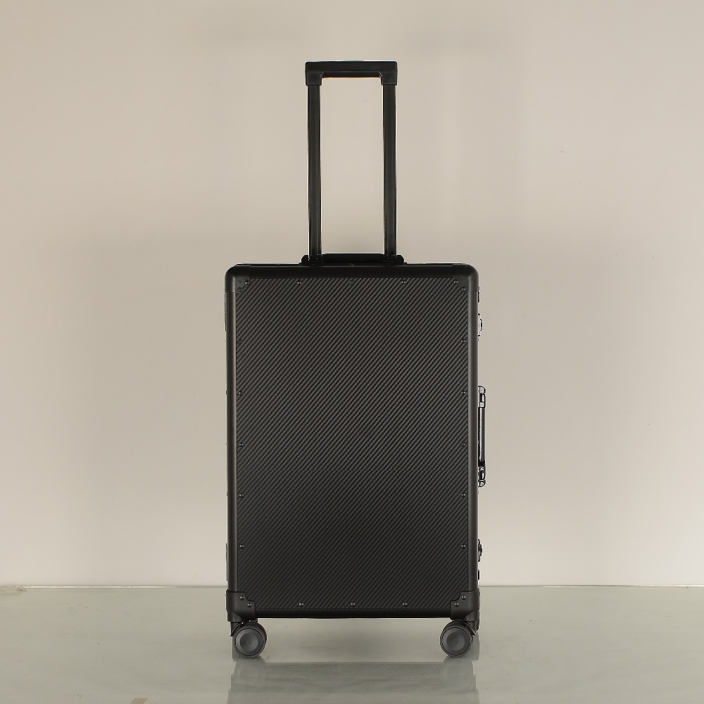 9984f76ee24d SEABIRD Aluminum frame&drawbars&PC TSA Scratch resistant travel trolley  case rolling luggage bags suitcase with wheels