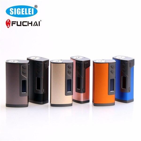100% Original Sigelei Fuchai 213 Box Mod SS/TI/NI200/TCR/TFR Modes 10w-213W 0.1-3.0ohm Fuchai 213w TC Mod original 200w hugo vapor hugo133 tc box mod tcr settings