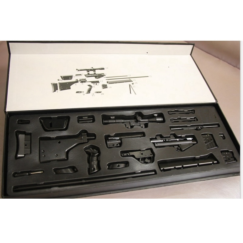 1:3 The Gun Model PSG Sniper Rifle 43CM Metal model Accessories