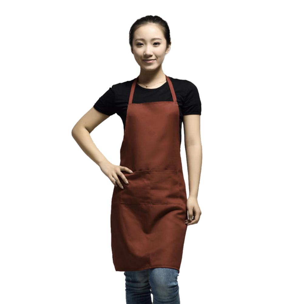 Korean Fashion Women Men Apron Kitchen Cooking Chef Cleaning ...