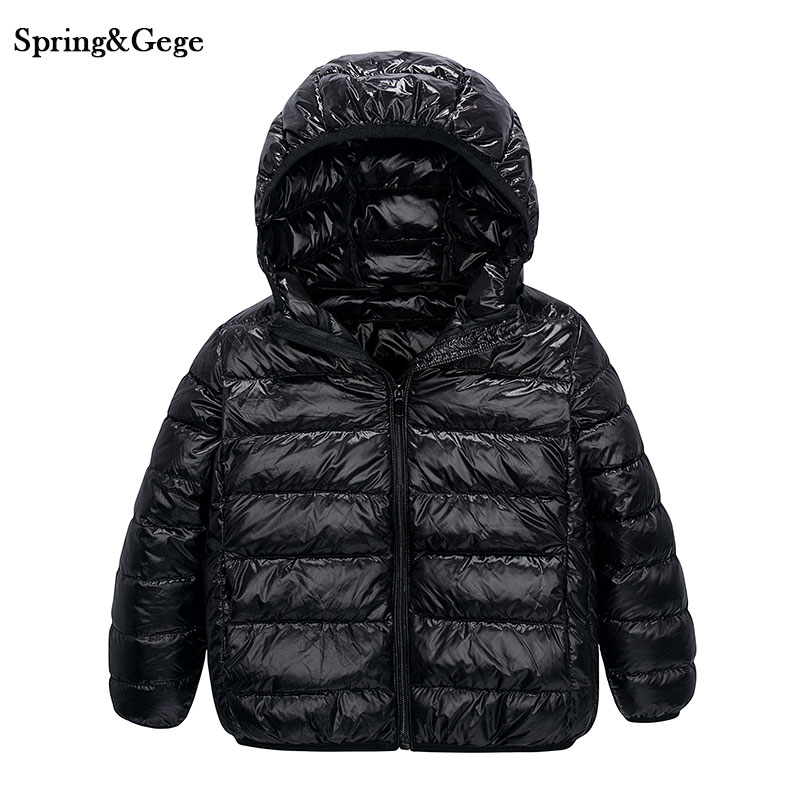 Children Outwear 90% white duck down jacket light weight Fashion kids clothes boys and girls warm hooded coat winter jackets girl coat winter duck down and jackets kids outwear warm jacket girls clothes parkas children baby girls clothing with hooded