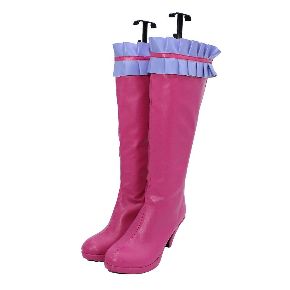 Brdwn NO GAME NO LIFE womens Steve D Nopant cosplay cute boots custom high Heel shoes